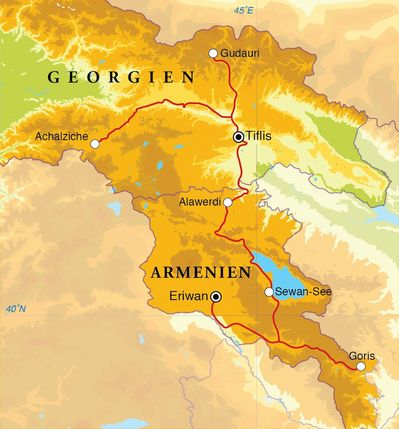 Rundreise Armenien Georgien 15 Tage Djoser Reisen Djoser Weltweite Gruppenreisen