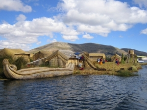 Titicaca-See: Uros Inseln