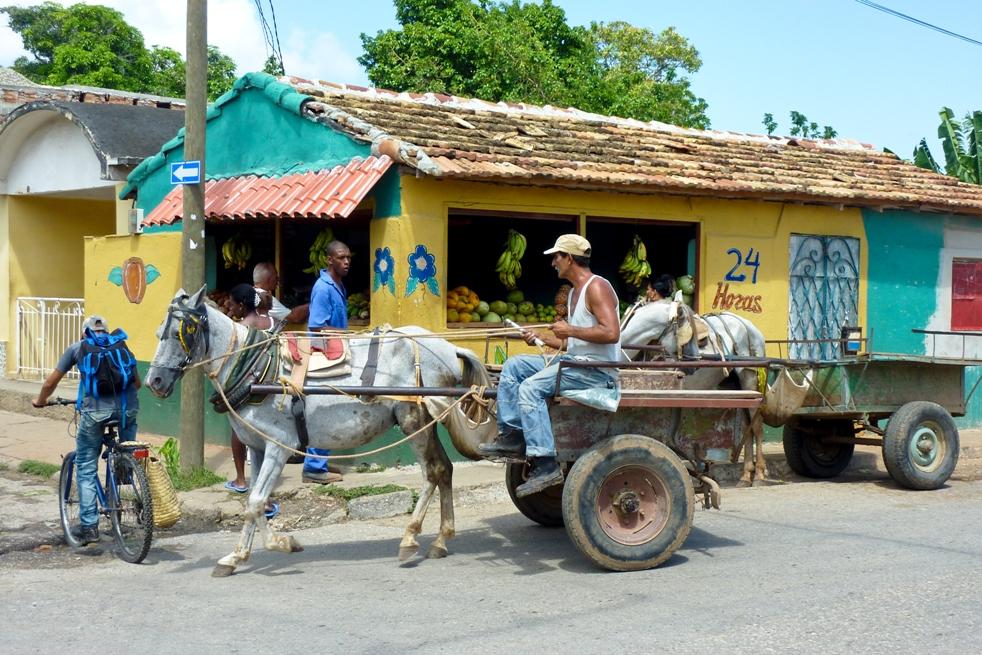 Straßenleben auf Kuba